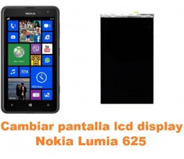 Cambiar pantalla lcd display Nokia Lumia 625