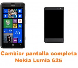 Cambiar pantalla completa Nokia Lumia 625