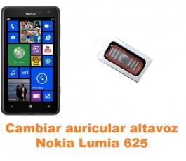 Cambiar auricular altavoz Nokia Lumia 625