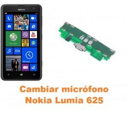 Cambiar micrófono Nokia Lumia 625