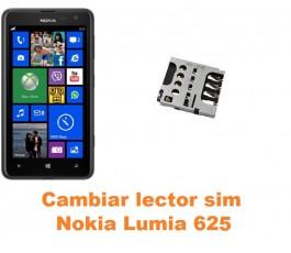 Cambiar lector sim Nokia Lumia 625