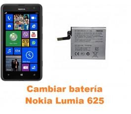 Cambiar batería Nokia Lumia 625