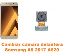 Cambiar cámara delantera Samsung Galaxy A5 2017 A520