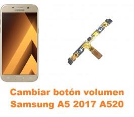 Cambiar botón volumen Samsung Galaxy A5 2017 A520