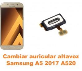 Cambiar auricular altavoz Samsung Galaxy A5 2017 A520