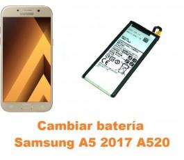 Cambiar batería Samsung Galaxy A5 2017 A520
