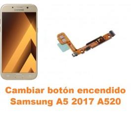Cambiar botón encendido Samsung Galaxy A5 2017 A520