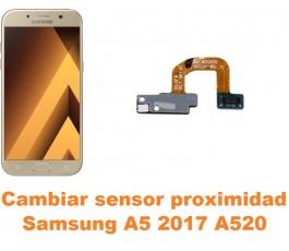 Cambiar sensor proximidad Samsung Galaxy A5 2017 A520