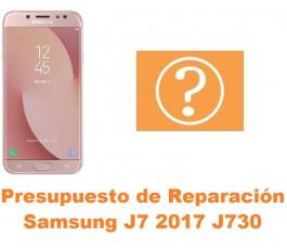 Presupuesto de reparación Samsung Galaxy J7 2017 J730