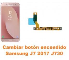 Cambiar botón encendido Samsung Galaxy J7 2017 J730
