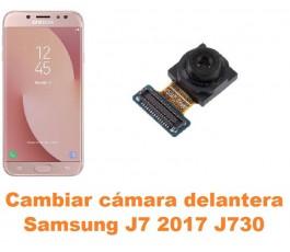 Cambiar cámara delantera Samsung Galaxy J7 2017 J730