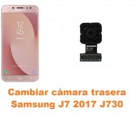 Cambiar cámara trasera Samsung Galaxy J7 2017 J730