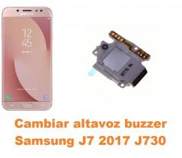 Cambiar altavoz buzzer Samsung Galaxy J7 2017 J730