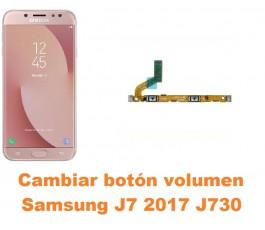 Cambiar botón volumen Samsung Galaxy J7 2017 J730