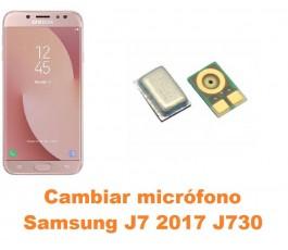 Cambiar micrófono Samsung Galaxy J7 2017 J730