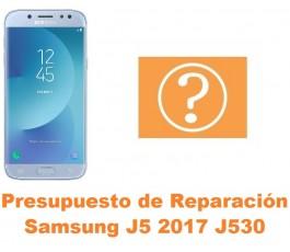 Presupuesto de reparación Samsung Galaxy J5 2017 J530