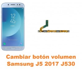 Cambiar botón volumen Samsung Galaxy J5 2017 J530