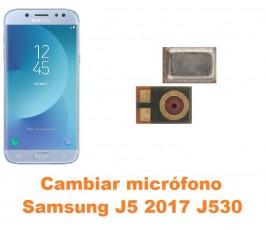 Cambiar micrófono Samsung Galaxy J5 2017 J530
