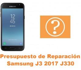 Presupuesto de reparación Samsung Galaxy J3 2017 J330