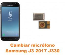 Cambiar micrófono Samsung Galaxy J3 2017 J330