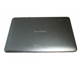 Tapa trasera para TrekStor SurfTab Xiron 10.1 gris original