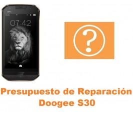 Presupuesto de reparación Doogee S30