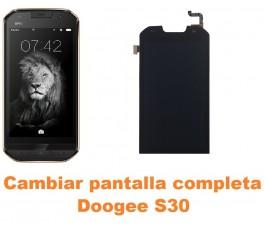 Cambiar pantalla completa Doogee S30
