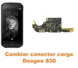Cambiar conector carga Doogee S30