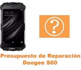 Presupuesto de reparación Doogee S60