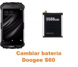 Cambiar batería Doogee S60