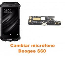 Cambiar micrófono Doogee S60
