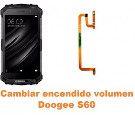 Cambiar encendido y volumen Doogee S60
