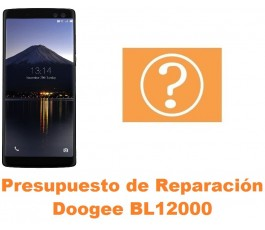 Presupuesto de reparación Doogee BL12000