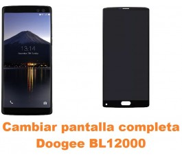 Cambiar pantalla completa Doogee BL12000