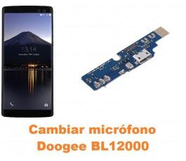 Cambiar micrófono Doogee BL12000