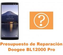 Presupuesto de reparación Doogee BL12000 Pro