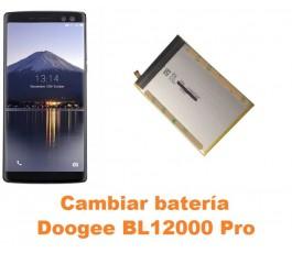 Cambiar batería Doogee BL12000 Pro