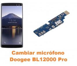 Cambiar micrófono Doogee BL12000 Pro