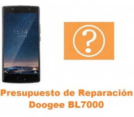 Presupuesto de reparación Doogee BL7000