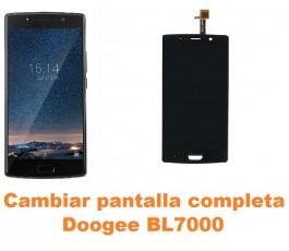 Cambiar pantalla completa Doogee BL7000