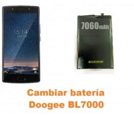 Cambiar batería Doogee BL7000