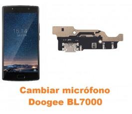 Cambiar micrófono Doogee BL7000