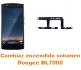Cambiar encendido y volumen Doogee BL7000