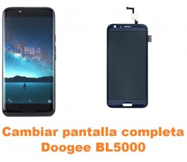 Cambiar pantalla completa Doogee BL5000