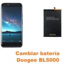 Cambiar batería Doogee BL5000