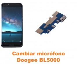 Cambiar micrófono Doogee BL5000