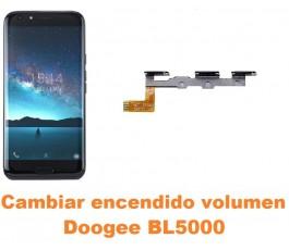 Cambiar encendido y volumen Doogee BL5000