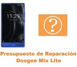 Presupuesto de reparación Doogee Mix Lite