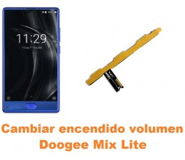 Cambiar encendido y volumen Doogee Mix Lite