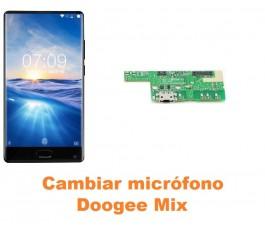 Cambiar micrófono Doogee Mix
